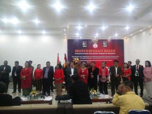 Pelantikan pengurus Punguan Manik Raja dohot Boruna se-Indonesia.
