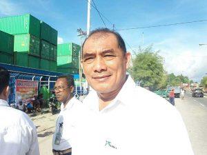 Pjs. General Manager PT Pelindo IV Pelabuhan Sorong, Sofyan.