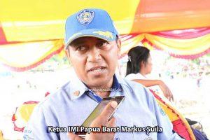Ketua IMI Papua Barat Markus Suila