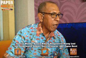 Bastian Wanma DKP Papua Barat
