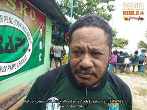 Yan Anton Yoteni Ketua Kawal Papua Barat