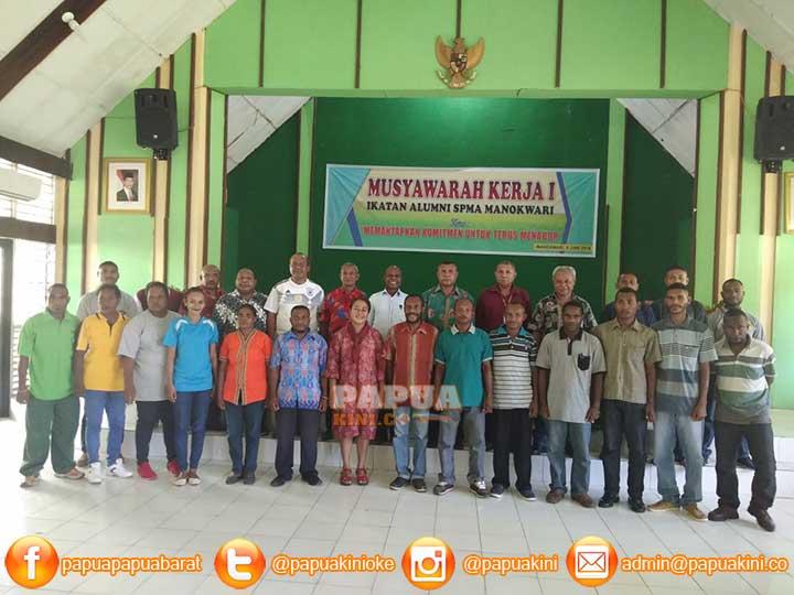 Musyawarah Pertama, Alumni SPMA Manokwari Komit Bangun Pertanian PB