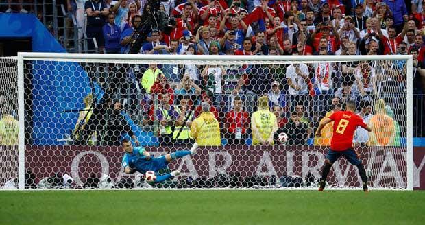 Gol Bunuh Diri Aneh Rusia Tak Bisa Selamatkan Sanyol