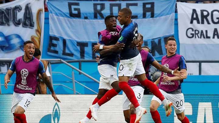 Perancis Keokkan Argentina 4:3