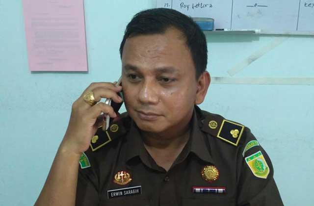 Kasi Pidsus Kejari Manokwar, Erwin Saragih, SH.,MH,