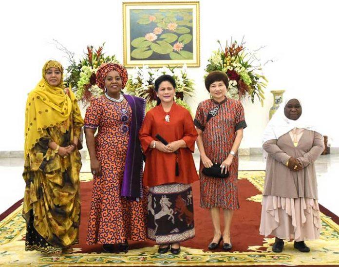 Ibu Negara Iriana Joko Widodo