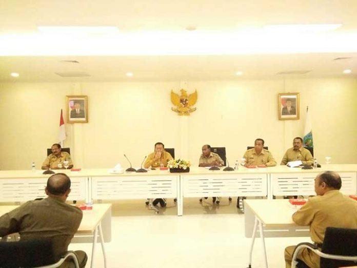 Rakor Gubernur Papua Barat