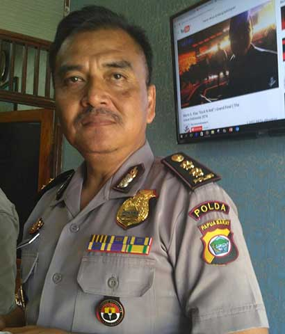 Kabid Humas Polda Papua Barat, AKBP Hary Supriono.