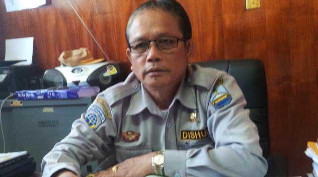 Kadis Perhubungan Manokwari Albert Simatupang