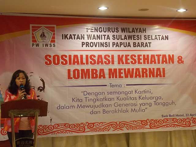 Ayu Humairah Bataray SH M.Si, Ketua IWSS Papua Barat