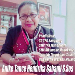Anike Tance Hendrika Sabami S.Sos