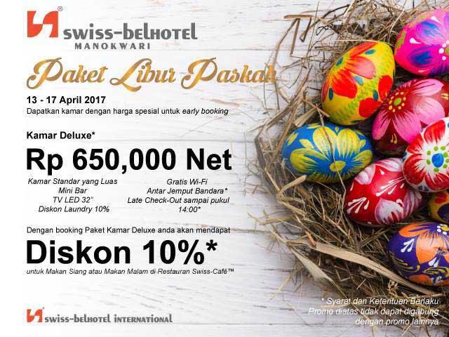 Promo Paskah Swiss-Belhotel Manokwari