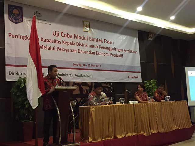 Penjabat (Pj) Gubernur Papua Barat, Drs Eko Subowo MBA