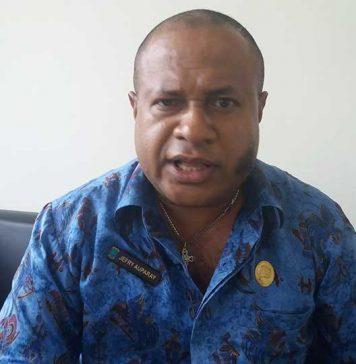 Wakil Ketua Majelis Pemuda Indonesia (MPI) KNPI Provinsi Papua Barat, Jefry Auparay
