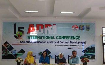 Konferensi internasional ADRI di Raja Ampat mulai hari ini hingga 13 November 2017 mendatang.