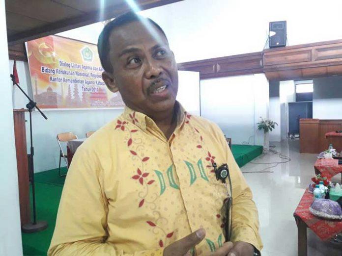 Kabag Tata Usaha Kakanwil Departemen Agama Provinsi Papua Barat, Abdul Hamid Rahanyamtel, S.Ag, M.Ag.