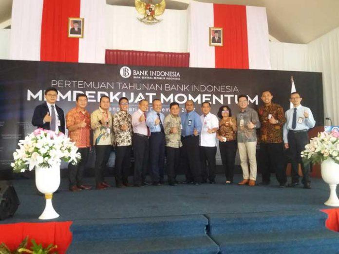 Pertemuan Tahunan Bank Indonesia Tahun 2017 di Aston Niu Hotel, Manokwari, Rabu (13/12).