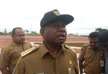 Gubernur Papua Barat Dominggus Mandacan.