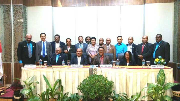 Anggota MRP 2017-2022 perwakilan Adat.