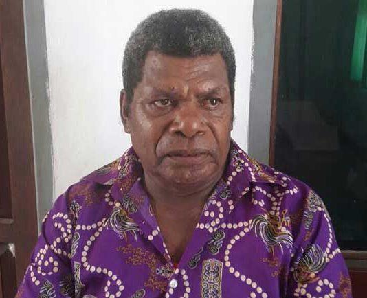 Ketua Dewan Adat Kaimana, Yohan Werfete.