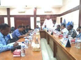 Pertemuan MKKS dengan Komisi D DPR PB, Rabu (20/12).
