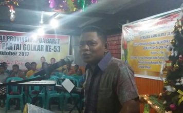 Ketua Partai Golkar Papua Barat, Rudi Timisela.