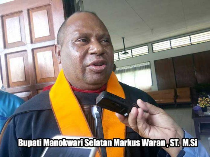 Bupati Mansel Markus Waran ST MSi