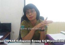 Kepala BPKAD Kabupaten Sorong Ari Wijayanti SE MM