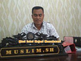 Kasi Pidsus Kejari Manokwari Muslim SH