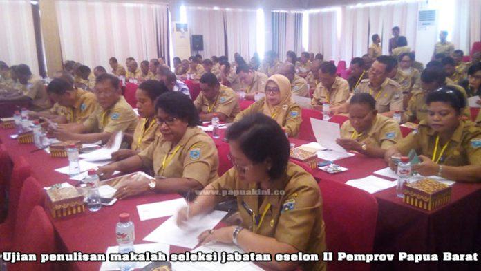 seleksi jabatan eselon II Pemprov Papua Barat