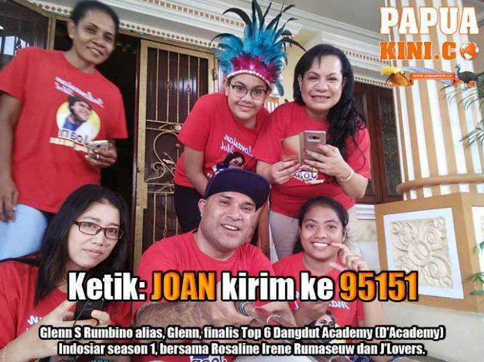 Glenn DA1 dan Rosaline Rumaseuw Ajak J'Lovers Vote Joan