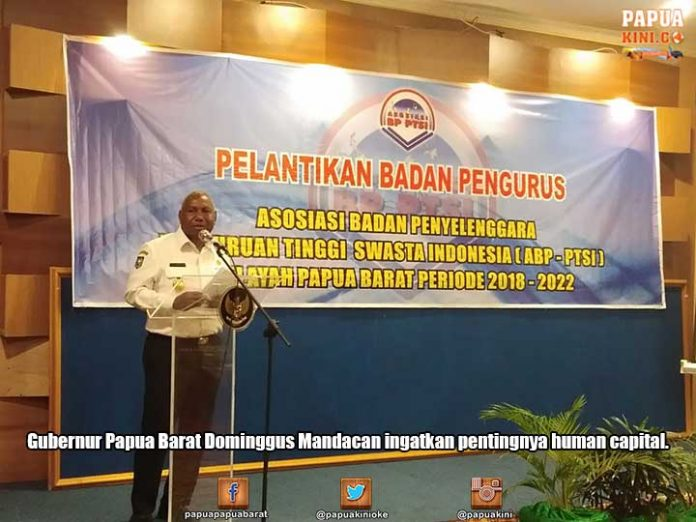 Gubernur Minta APB-PTSI PB Ciptakan Human Capital Andal
