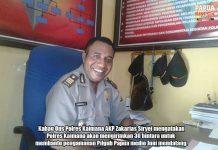 30 Personil Polres Kaimana Bantu Amankan Pilgub Papua