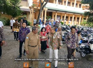 Cek SMAN/SMKN di Manokwari, Komisi X Akan Panggil Mendikbud
