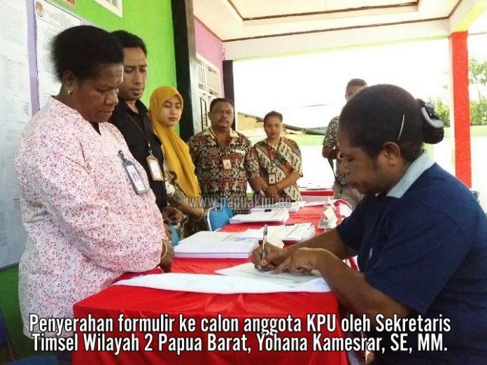 Timsel Wilayah 2 Papua Barat Buka Pendaftaran Calon Anggota KPU