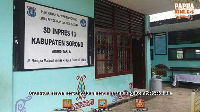 Uang Komite Sekolah Buat Bayar Tanah, Orangtua Siswa Bertanya