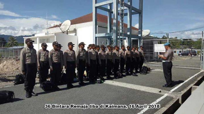 Polres Kaimana Ketambahan 36 Bintara Remaja
