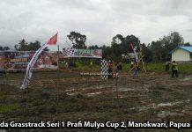 Tiket Sriwijaya Air Manokwari-Denpasar PP Buat Juara Umum Grasstrack Prafi