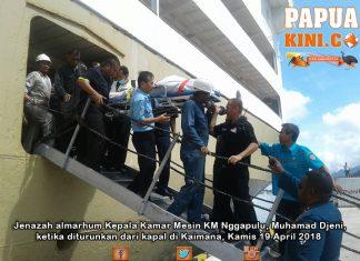 Kepala Kamar Mesin KM Nggapulu Meninggal di Kapal