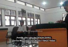 Tarsius Wino Limanouw terpidana kasus narkoba