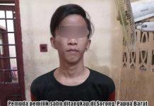 Pemuda di Sorong Ditangkap Jual Sabu