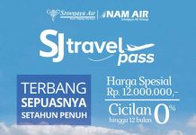 Pakai Sriwijaya Air Travel Pass Bisa Terbang Setiap Hari
