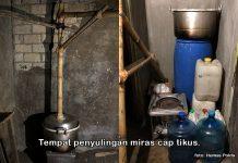 Polisi Grebek Pabrik CT Tak Bertuan