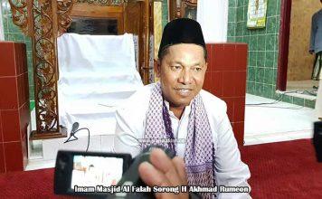 Imam Masjid Al Falah Apresiasi Kaum Bapak GKI Sion Klabala