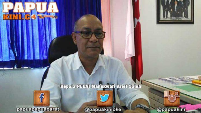 Kepala PELNI Manokwari Arief Saleh