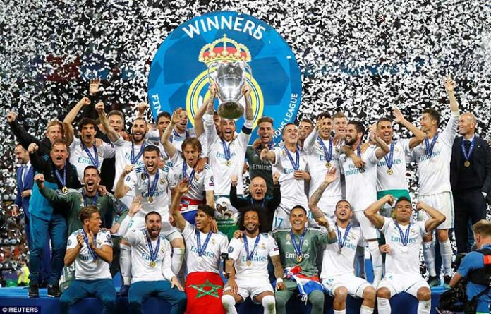 Real Madrid 3-1 Liverpool, Hattrick Juara Champion League
