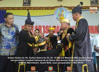 Kukuhkan KKBR, Sultan Buton Harap Moratorium DOB Dicabut