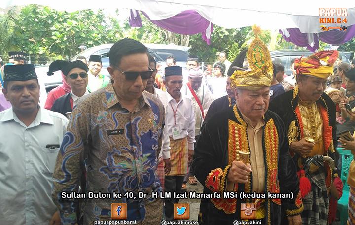 Sultan-Buton-ke-40–Dr–H-LM-Izat-Manarfa-MSi | Papua Kini