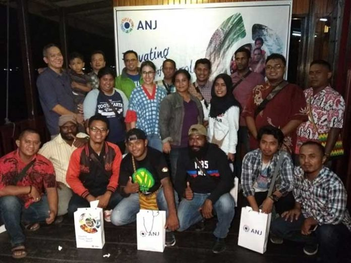 PT ANJ Buka Puasa Bersama Pekerja Pers Sorong Raya