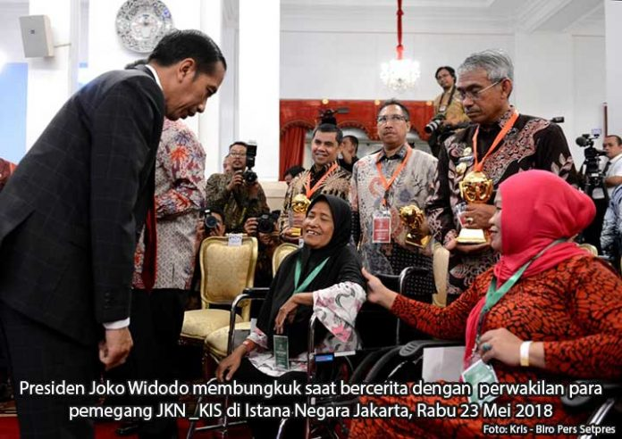 Ibu Dari Makassar Curhat Pada Presiden